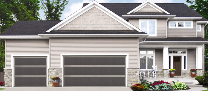 Wayne Dalton Carriage House Garage Doors Model 9405