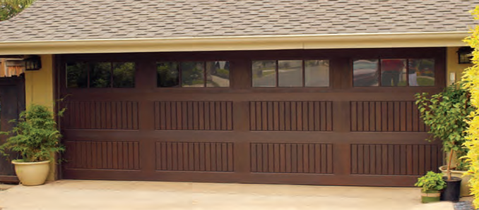 Wayne Dalton Fiberglass Garage Doors  Model 9800