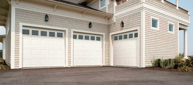 Short Panel Garage Doors